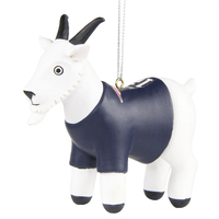 Tom Brady GOAT Ornament