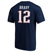 Tom Brady Name and Number Tee