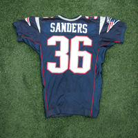 2005 James Sanders #36 Game Worn Navy Jersey w/Opener Patch