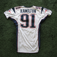 2000 Bobby Hamilton Game Worn White Jersey