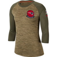 Ladies Nike Salute To Service Raglan Top