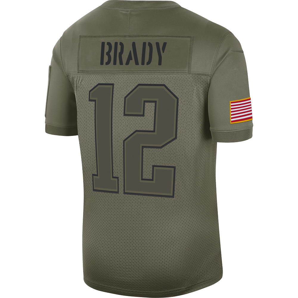 Nike Tom Brady Salute To Service Limited Jersey