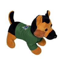 German Shepherd Military Plush Dog