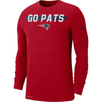 Nike Go Pats Long Sleeve Tee