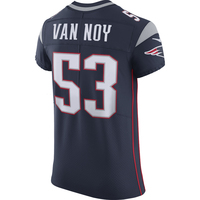 Nike Kyle Van Noy #53 Elite Jersey-Navy