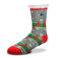 Ladies Holiday Sherpa Socks