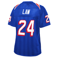 Ladies Ty Law Royal Replica Jersey