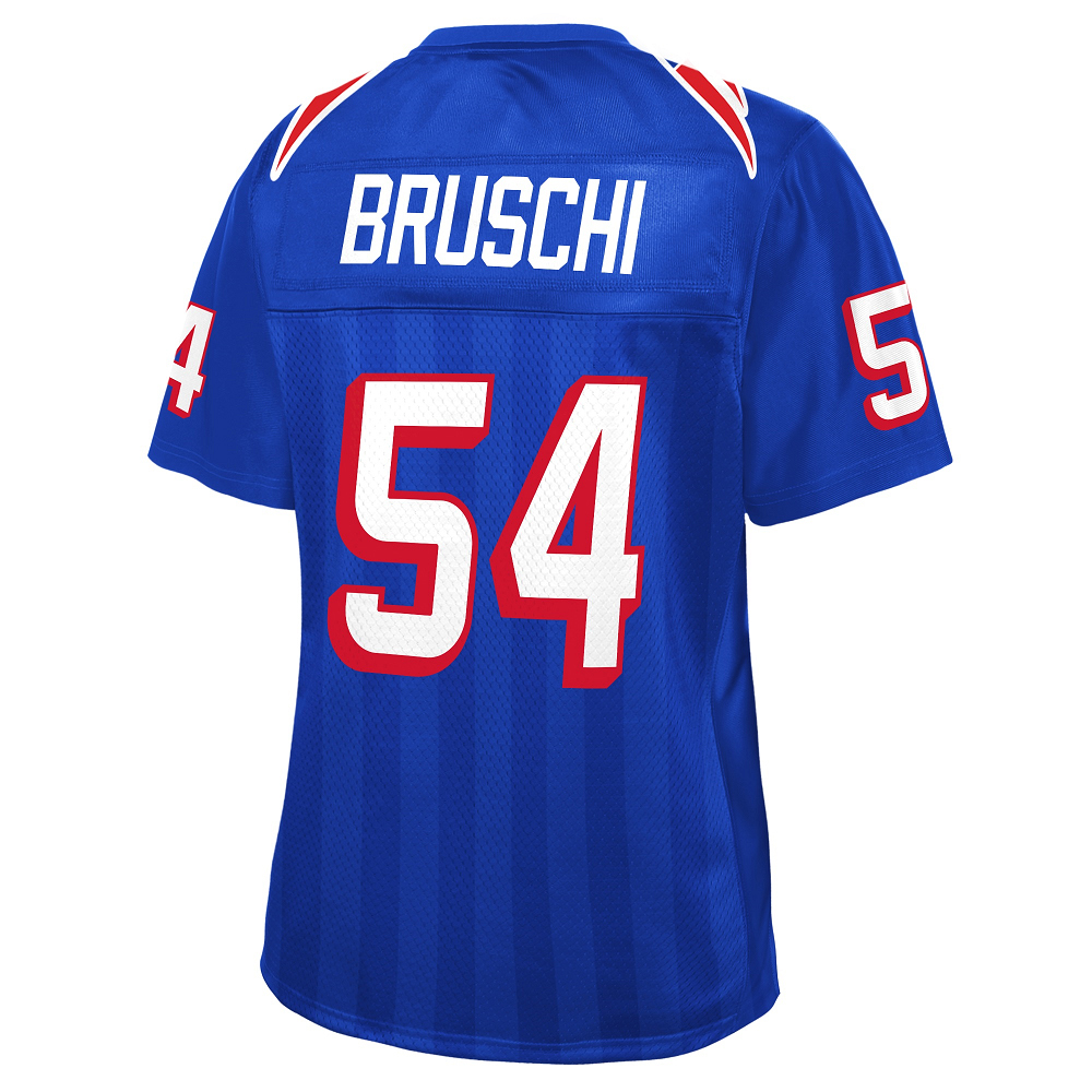 Ladies Tedy Bruschi Royal Replica Jersey