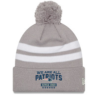 New Era We Are All Patriots Pom Knit