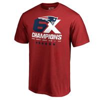 6X Champions Short Sleeve Tee