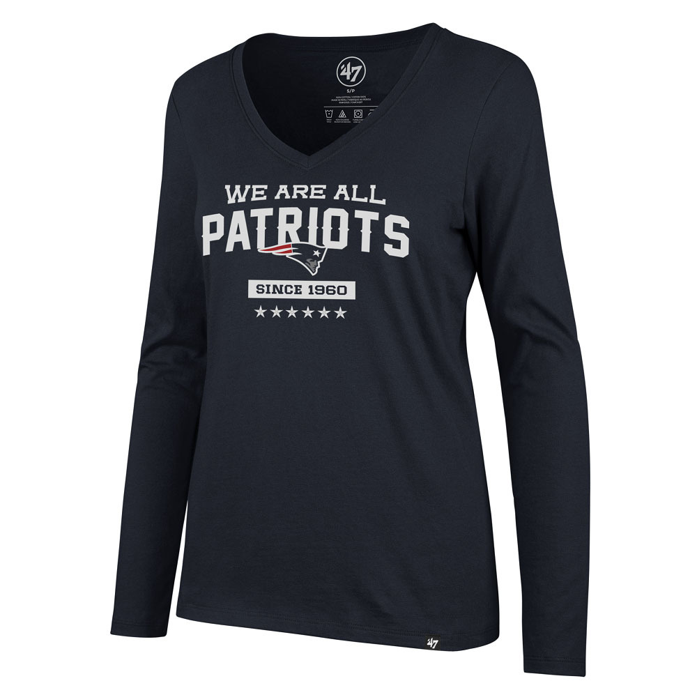 Ladies We Are All Patriots Long Sleeve Tee