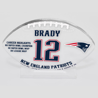Tom Brady #12 Acrylic Display Souvenir Memento