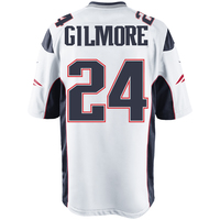 Nike Stephon Gilmore #24 Game Jersey-White