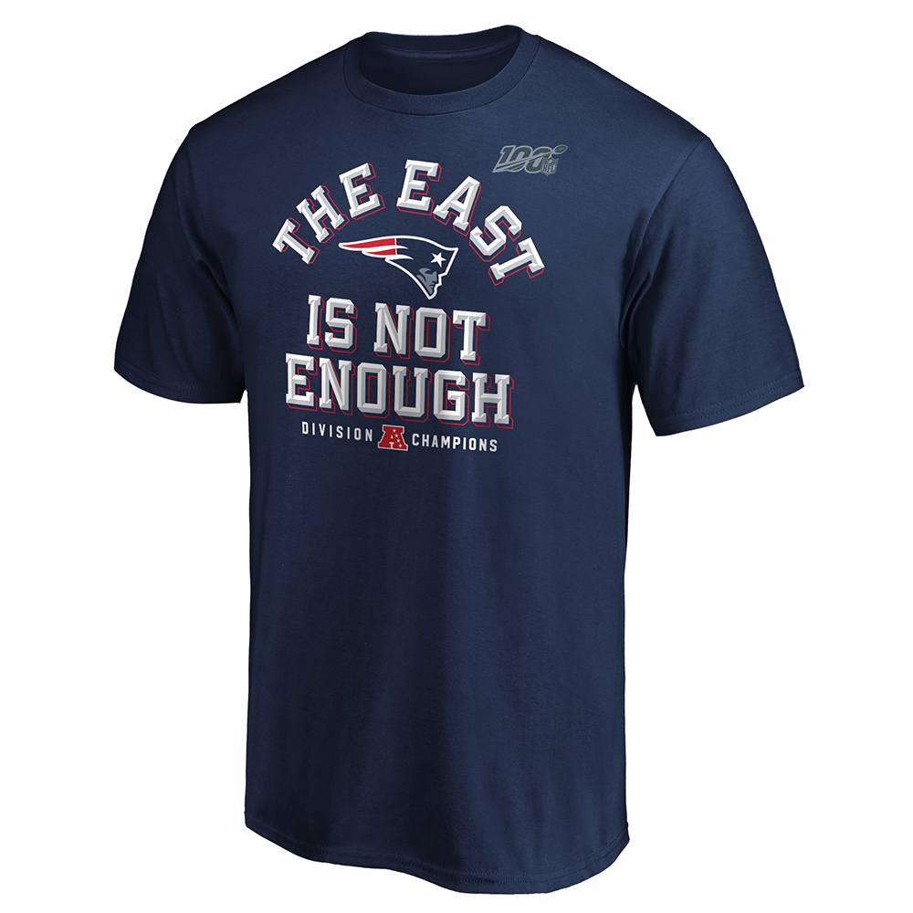 2019 East Is Not Enough AFC East Division Champs Tee