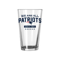We Are All Patriots Pint Glass