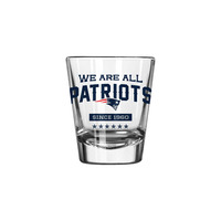 We Are All Patriots Shot Glass