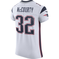 Nike Devin McCourty #32 Elite Jersey-White