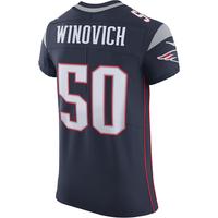 Nike Chase Winovich #50 Elite Jersey-Navy