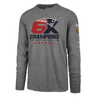 '47 6X Champions Logos Long Sleeve Tee