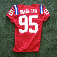 2009 Tully Banta-Cain Game Worn Throwback Red Jersey