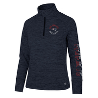 Ladies Logo Impact 1/4 Zip Top