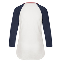 Ladies Arch Fade Long Sleeve Raglan
