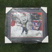 Autographed Tedy Bruschi Framed Photo