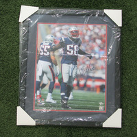 Autographed Jamie Collins Framed Photo