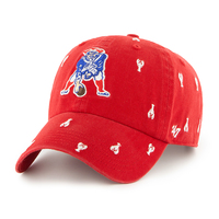 Ladies Throwback Confetti Cap-Lobster
